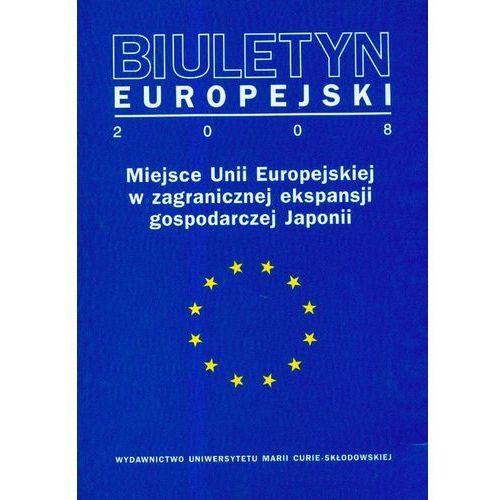 Biuletyn Europejski 2008 - DODATKOWO 10% RABATU i WYSYŁKA 24H!, UMCS