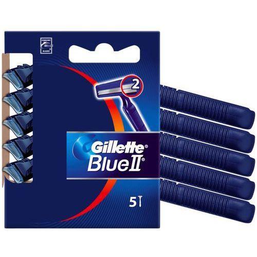 Gillette blue ii maszynka do golenia 5 szt dla mężczyzn
