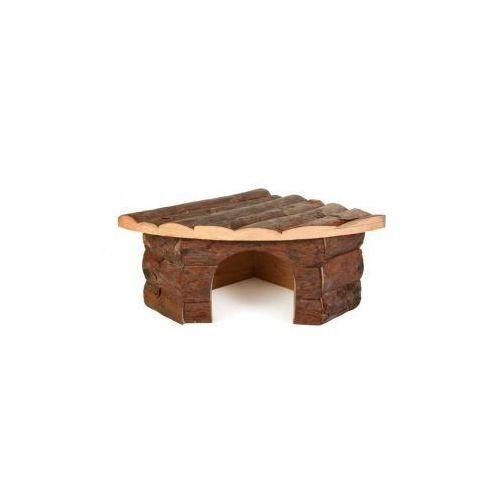Domek drewniany dla gryzoni Jesper Rozmiar:42 × 15 × 30/30 cm z kategorii domki i klatki dla gryzoni