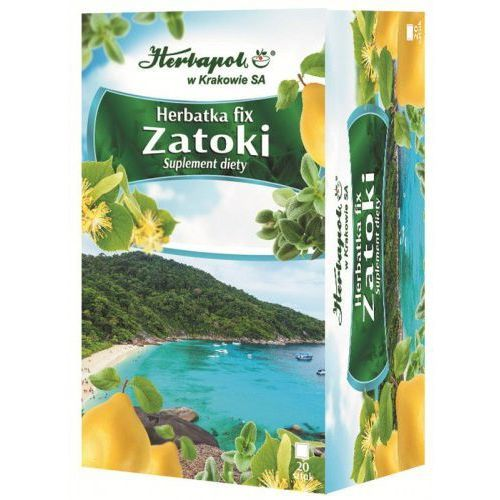 Herbata ZATOKI fix 20*2g HERBAPOL KRAKÓW, 5903850004455