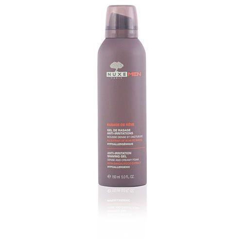 NUXE MEN Pianka-Żel do golenia łagodząca podrażnienia hipoalergiczna ekstrakt z drzewa sandałowego (3264680003585)