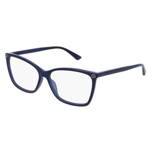Okulary korekcyjne gg0025o 005 marki Gucci