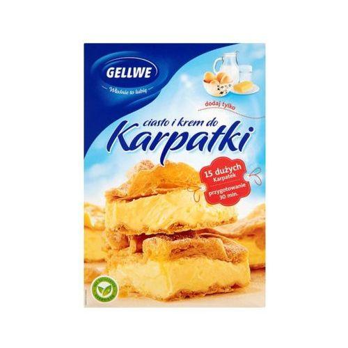 340g ciasto karpatka + krem marki Gellwe