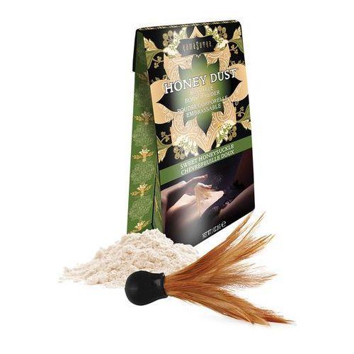 Kamasutra Jadalny miodowy puder do ciała honey dust body powder 28g, rozmiar: 28, kolor: mango (0739122130158)