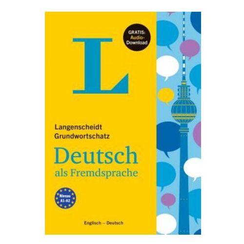 Langenscheidt Grundwortschatz Deutsch als Fremdsprache - Buch mit Audio-Download (9783468201301)
