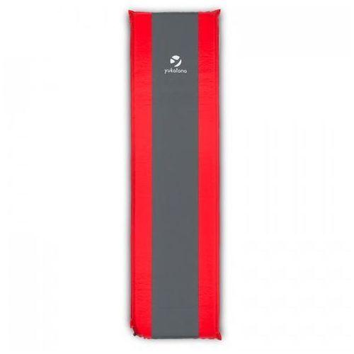 Yukatana Goodrest 3 izomata/karimata 3cm materac powietrzny samopompująca czerwono-szara