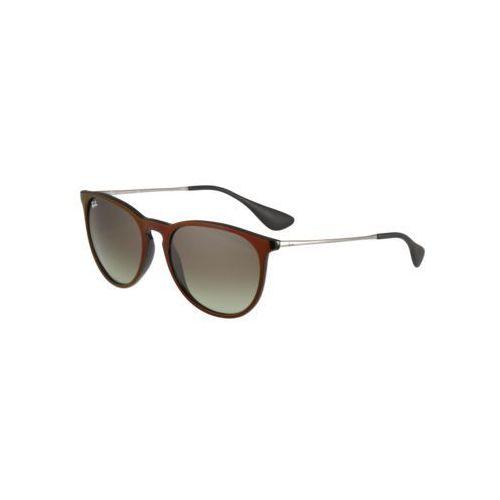 Ray-ban Rayban erika okulary przeciwsłoneczne green/gradient brown