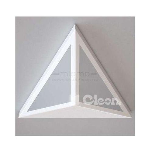 Cleoni Lampa ścienna serisa 1404/a2/w19/kolor/3000k trójkątna oprawa led 15w kinkiet