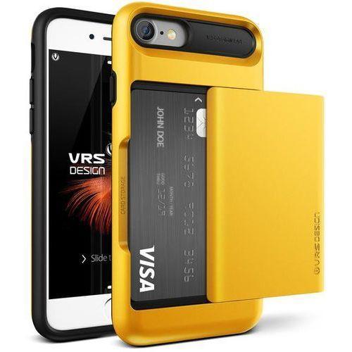 Etui VRS DESIGN Damda Glide do iPhone 7 Żółty, V904612