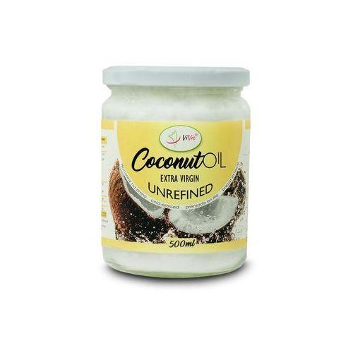 olej kokosowy nierafinowany 500ml marki Vivio