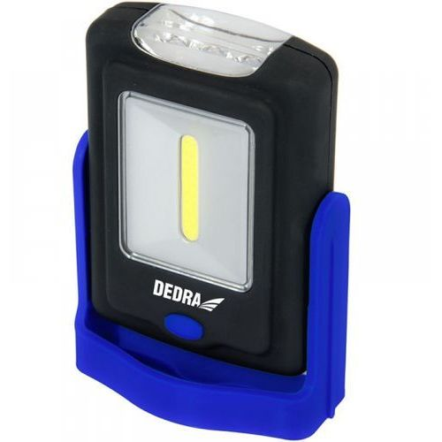Lampa 1W LED COB + 3W LED, 100 lumenów, prostokątna