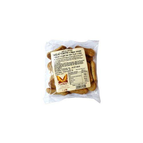 Natural Biszkopty jaglane bezglutenowe z owocami leśnymi bez jajek, cukru i mleka 150g (8594010318054)
