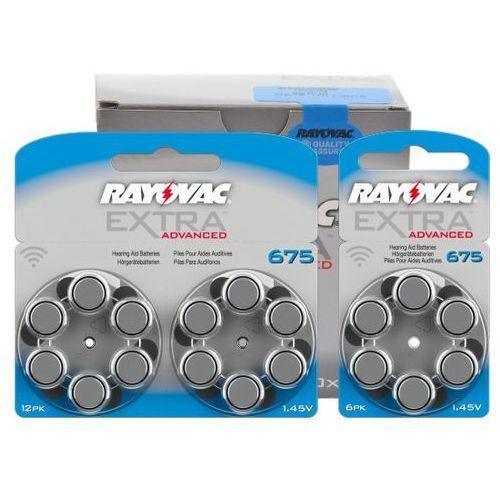 600 x baterie do aparatów słuchowych Rayovac Extra Advanced 675 MF (96178218)