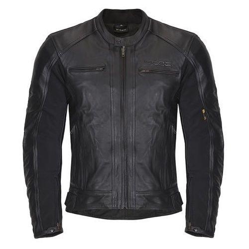 Męska skórzana kurtka motocyklowa mardok nf-1121, czarny, 6xl, W-tec