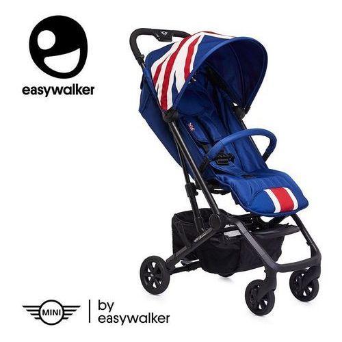Mini by buggy xs wózek spacerowy z osłonką przeciwdeszczową union jack classic marki Easywalker