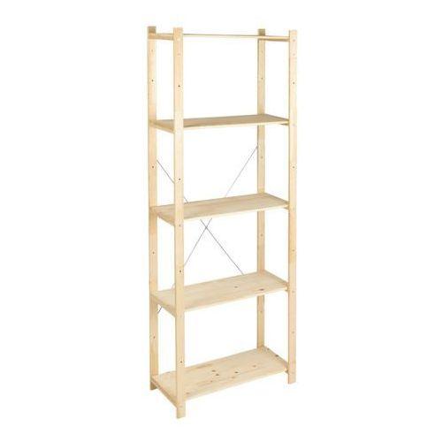 Regał drewniany Form Symbios 28 x 65 x 170 cm 40 kg (3663602991724)