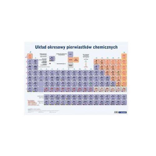 Plansza edukacyjna Układ okresowy pierwiastków chemicznych (9788379120864)