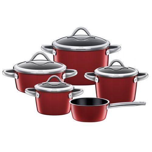 Zestaw garnków 5-częściowy Silit Vitaliano rosso - produkt z kategorii- garnki
