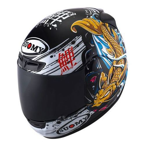 Kask SUOMY APEX JAPAN BLACK/GOLD integralny