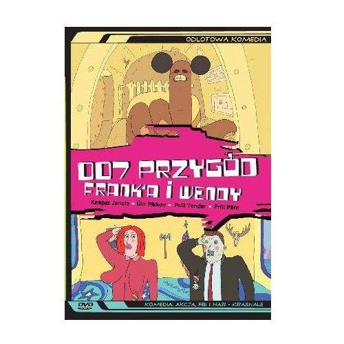 Vivanco 007 przygód franka i wendy (płyta dvd)