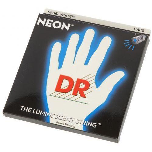 Dr nwb 45 white neon struny do gitary basowej 45-105