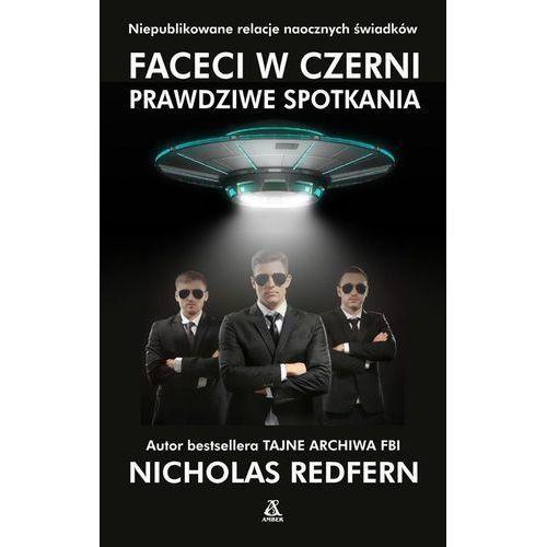 Faceci w czerni - Nicholas Redfern OD 24,99zł DARMOWA DOSTAWA KIOSK RUCHU, oprawa miękka