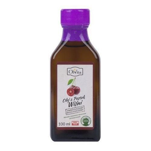Olej z pestek wiśni tłoczony na zimno nieoczyszczony 100ml - Olvita (5907591923471)