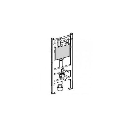 Stelaż podtynkowy Geberit DuofixBasic H112 do WC, UP100, Delta 111.153.00.1 - sprawdź w wybranym sklepie