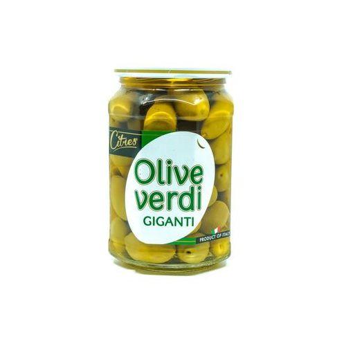 Soczyste zielone oliwki