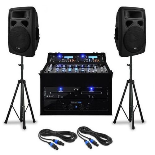 """Zestaw nagłaśniający dj-ski """"urban trip-hop beats"""" 250 osób marki Elektronik-star"""