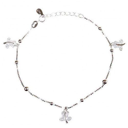 Biżuteria damska ze srebra bransoletka srebrna sb.039.01 marki Saxo