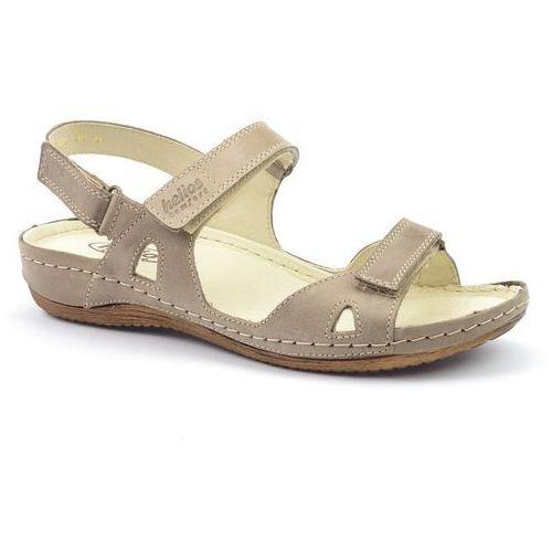 Helios Sandały 205 beż