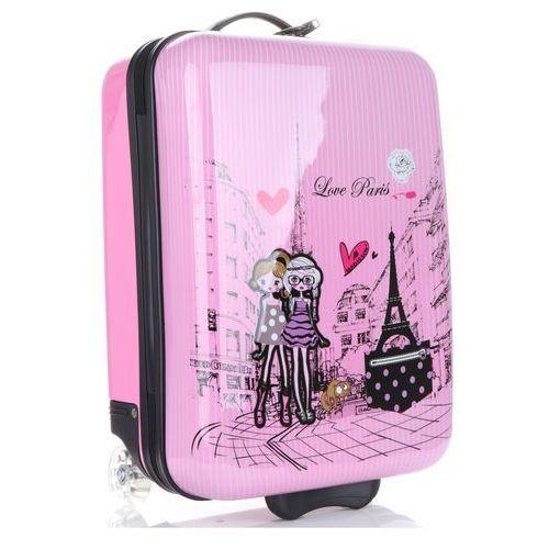 e2b4b441a51e2 Oryginalna walizka kabinówka dla dzieci paris firmy multikolor - różowa  marki Madisson 199,00 zł Twoje dziecko wybiera się na kolonię lub wakacyjny  obóz?