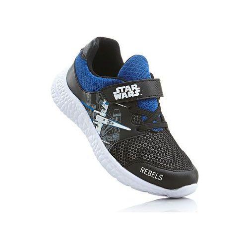 Bonprix Sneakersy star wars czarno-niebieski