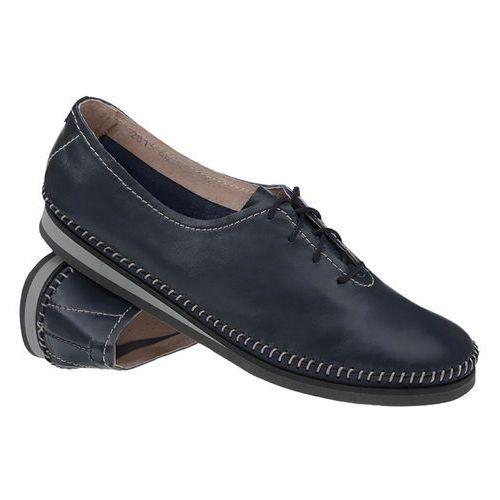 ddf9bd3304201 ... Mokasyny sznurowane buty SIMEN 6870 Granatowe - Granatowy, kolor  niebieski 187,90 zł Simen 6870 SL.