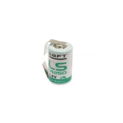 Bateria ls14250/cnr 1.2ah 3.6v 1/2aa 14.6x25.1mm z blaszkami do lutowania marki Saft