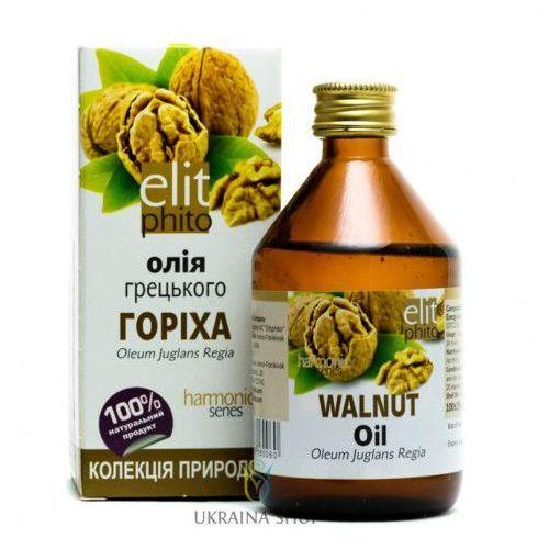 Olej z orzechów włoskich, elitphito, 100% naturalny 100 ml marki Elit phito