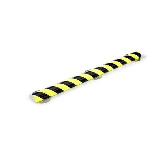 Shg pur-profile Profil ostrzegawczy i ochronny knuffi®,typ c+, dł. 1000 mm, przekrój: półokrągły