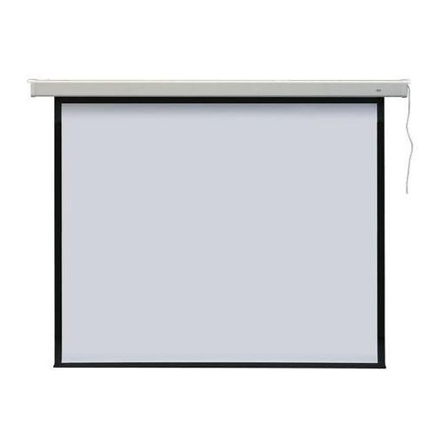 Ekran projekcyjny profi elektryczny, format 4:3 147×108 marki 2x3