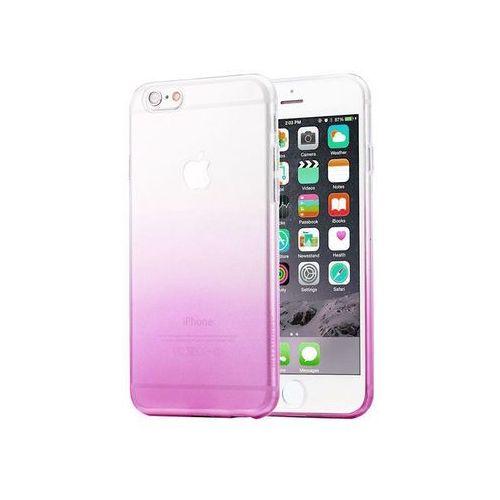 Etui Alogy ombre case Apple iPhone 6 / 6s Fioletowe + Szkło - Fioletowy, kolor fioletowy