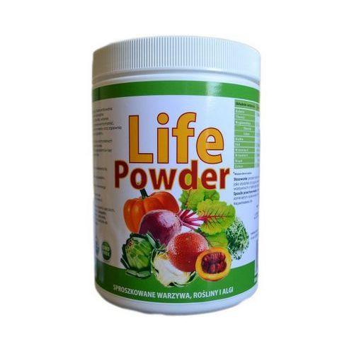 Lifepowder mix sproszkowanych warzyw, roślin i alg 420g marki Kenay ag