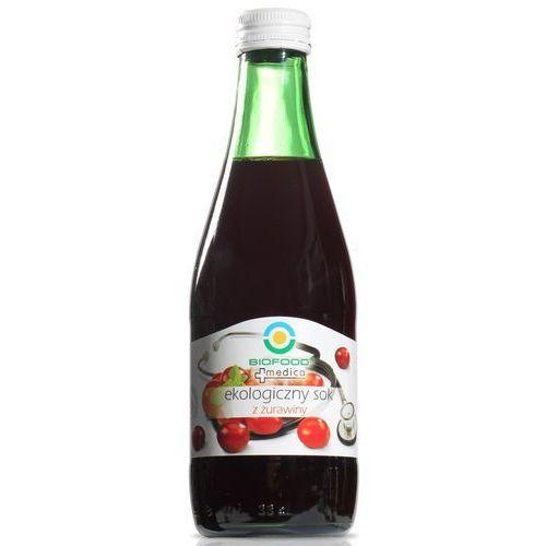 Sok z żurawiny 300 ml marki Bio food