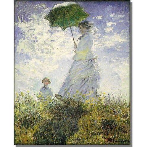 Kobieta z Parasolem - Madame Monet i Jej Syn - Claude Monet - sprawdź w wybranym sklepie