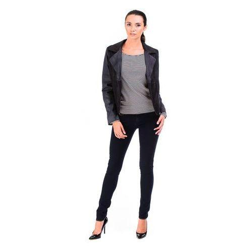 """Kurtka Wrangler Daisy Leather JKT """"Black"""" - produkt dostępny w BeJeans"""