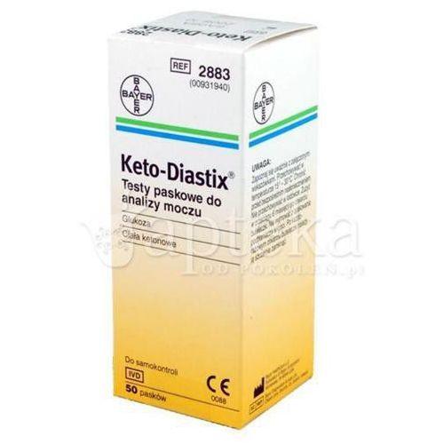 Keto-Diastix test pask. 50 szt.