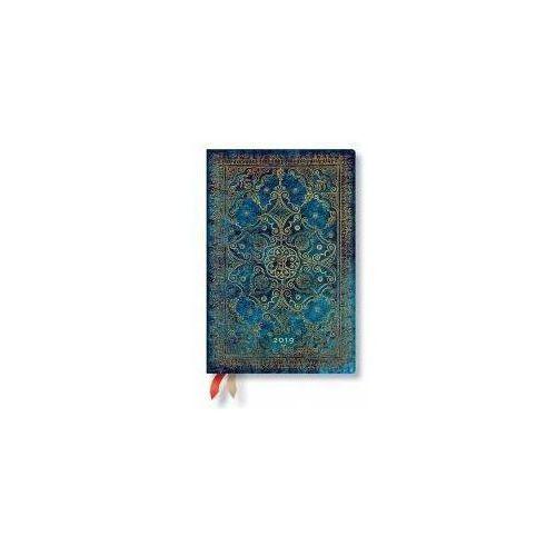 Paperblanks Kalendarz książkowy midi 2019 12m azure (9781439748688)