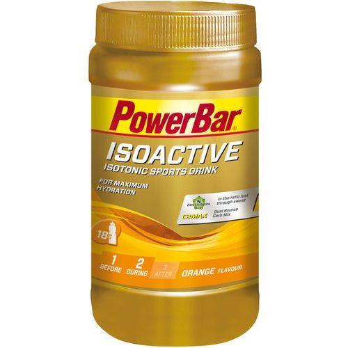 PowerBar Isoactive Żywność dla sportowców Orange 600g żółty/złoty 2018 Suplementy (4029679996113)
