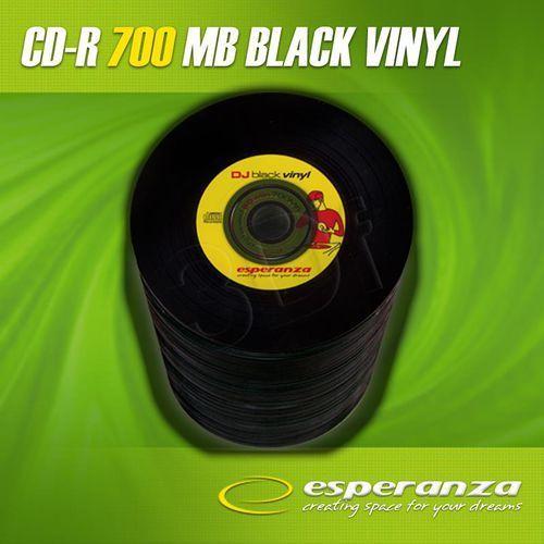 Esperanza CD-R 700MB 52x Vinyl Black Szpindel (100szt.) / DARMOWA DOSTAWA / DARMOWY ODBIÓR OSOBISTY! - oferta (05afdaafbf3323d9)