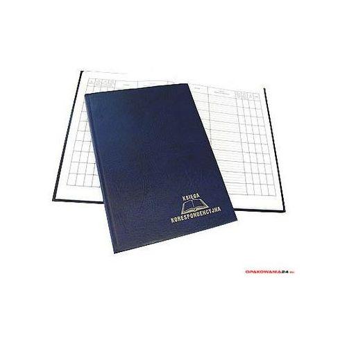 Książka korespondencyjna A4 300k - granat WARTA 1824-229-019