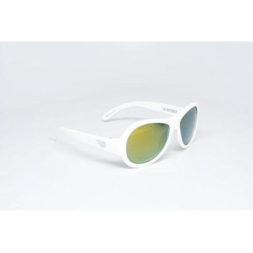 Babiators Okulary przeciwsłoneczne dla dzieci z polaryzacją (3-5) Białe